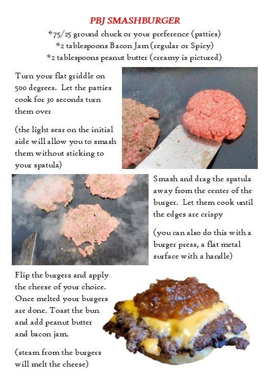 recipe card pbj burger side 2