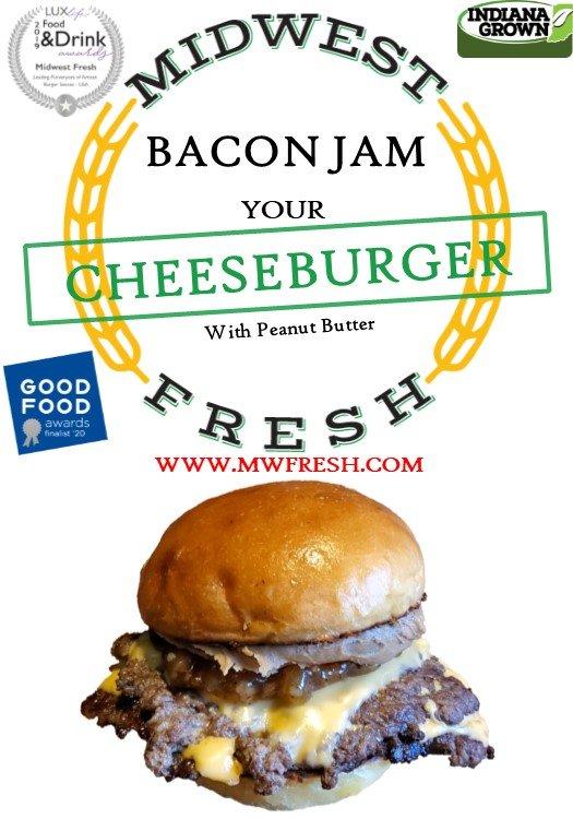 recipe card pbj burger